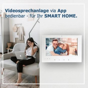 Eigenschaften 7 Zoll TFT Wohnungsbildschirm der Video Gegensprechanlage