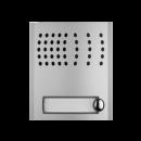 PL11PED - Profilo Türsprechmodul mit eingebauter Türfreisprecheinrichtung. 1 Klingeltaste